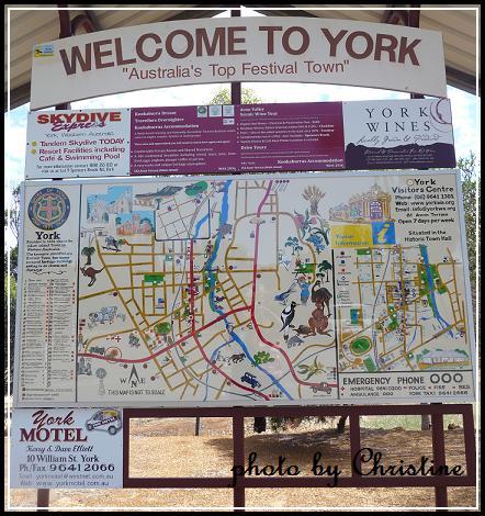 YORK 鎮地圖
