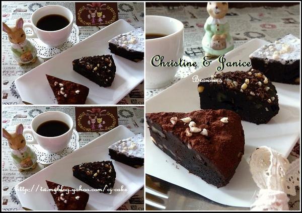 濃醇巧克力布朗尼系列