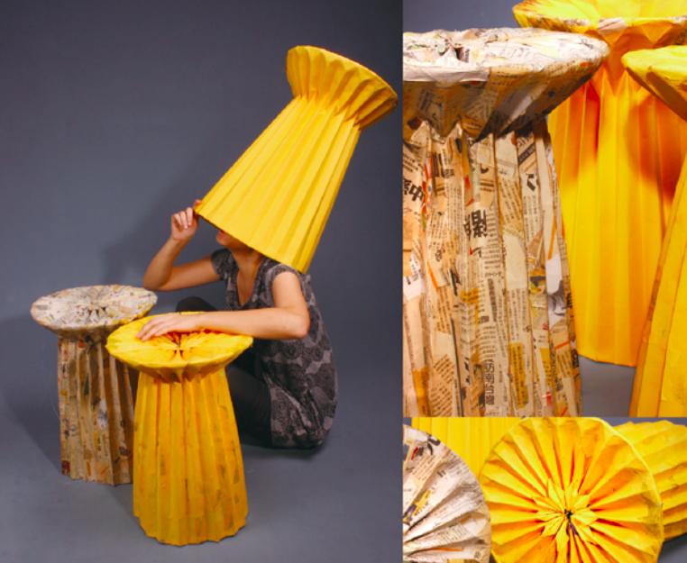02一紙椅