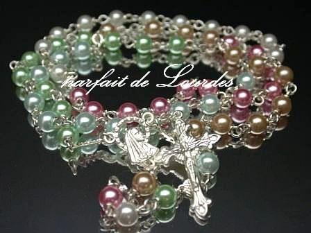 Catholic Rosary  天主教玫瑰經念珠--五大洲