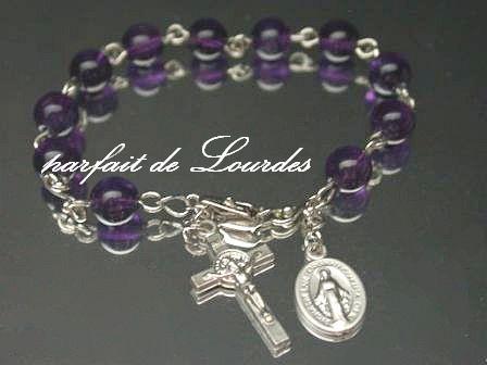 Catholic Rosary Bracelet 天主教玫瑰經一端念珠
