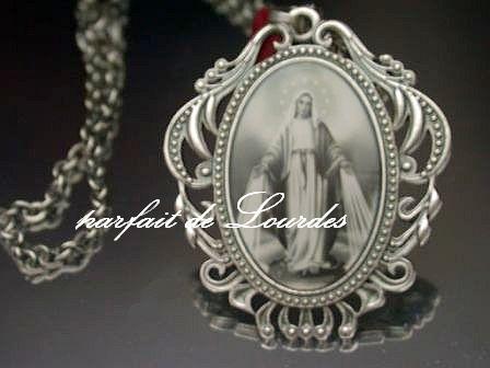 顯靈聖母古典墜飾