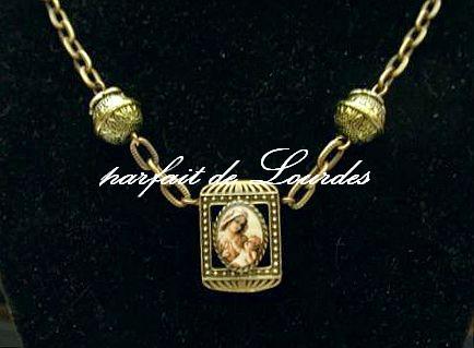 聖母聖嬰古典項鍊