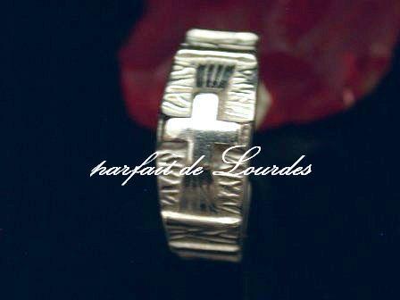 天主教玫瑰經戒指--925純銀