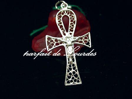 天主教925純銀鏤空十字架