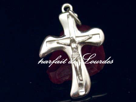 天主教925純銀十字架--法國教區