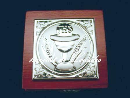 天主教925純銀置物盒