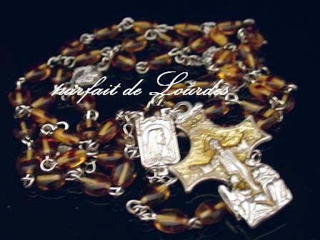 玫瑰經念珠--聖母領報