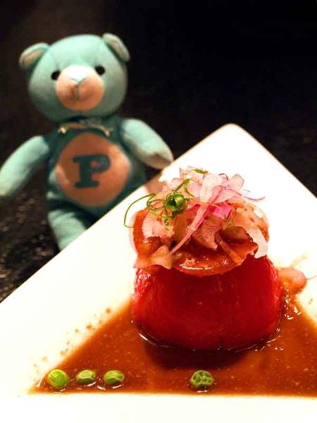 蟹肉蕃茄沙拉