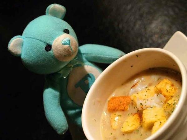 蟹肉磨菇濃湯