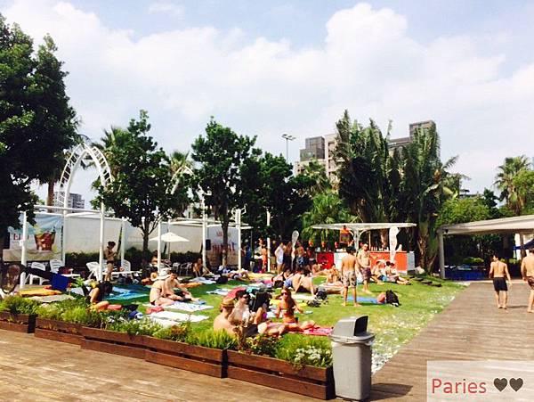 落得城堡 pool party_8516