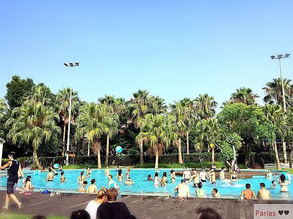 落得城堡 pool party_9430