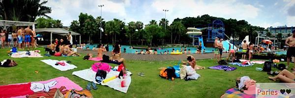 落得城堡 pool party_6016