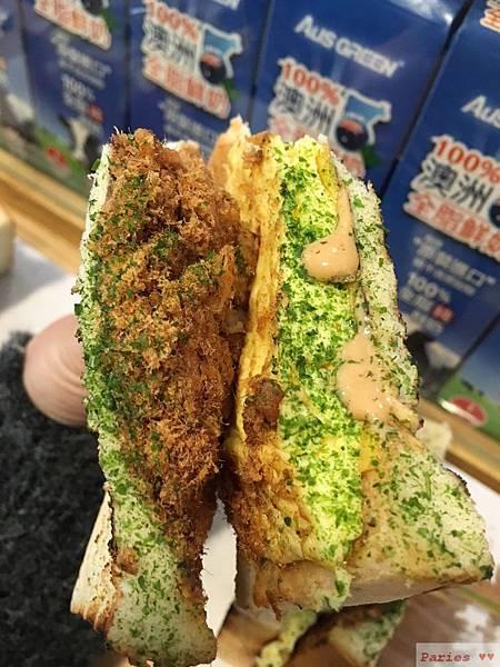 (食記)中山國中~碳烤土司 上山覓食