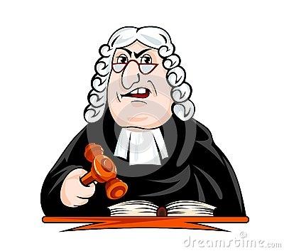 法官作出判决-46031434