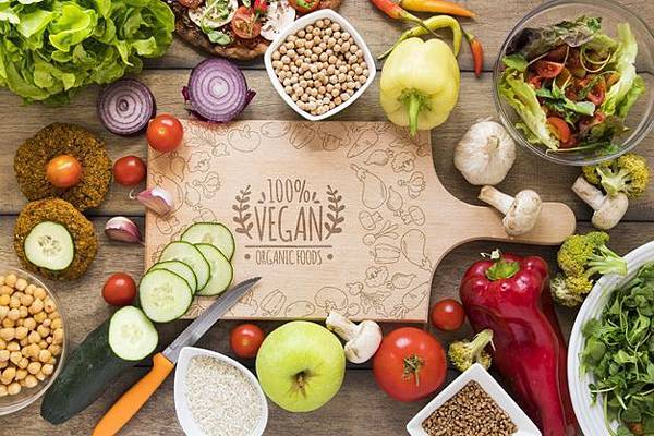 top-view-arrangement-with-delicious-food-cutting-board_23-2148380851