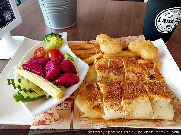 28巷早午餐 ( LANE 28 )-起司波薩蛋餅