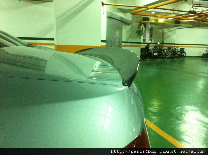 E92 Performance碳纖維尾翼-安裝