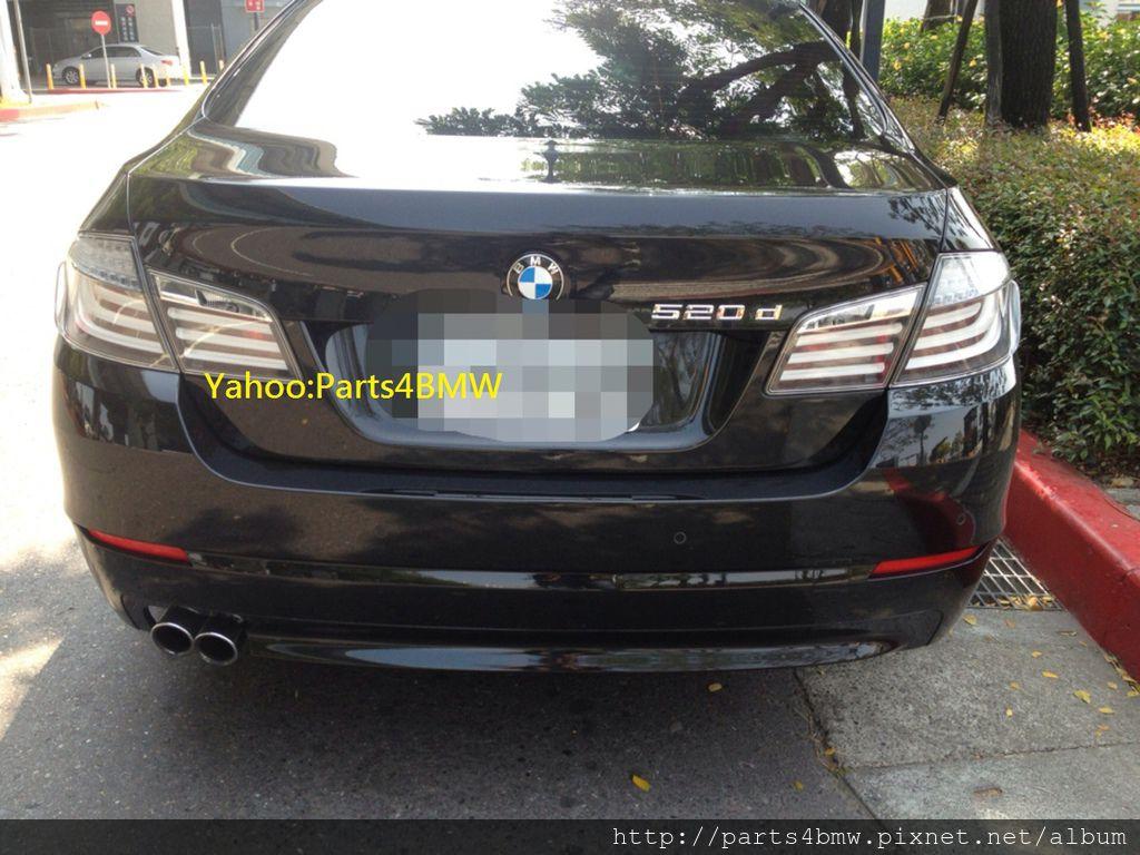 BMW F10 白色尾燈-1