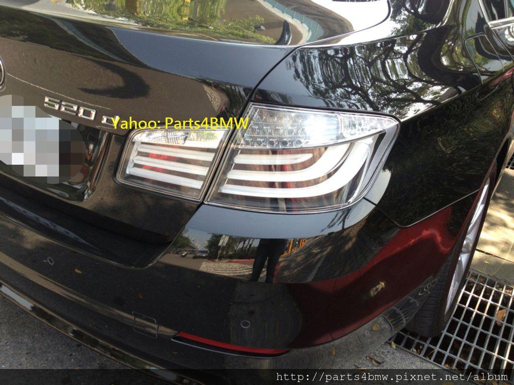 BMW F10 白色尾燈-2