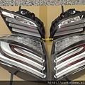 BMW F10 白色尾燈-4