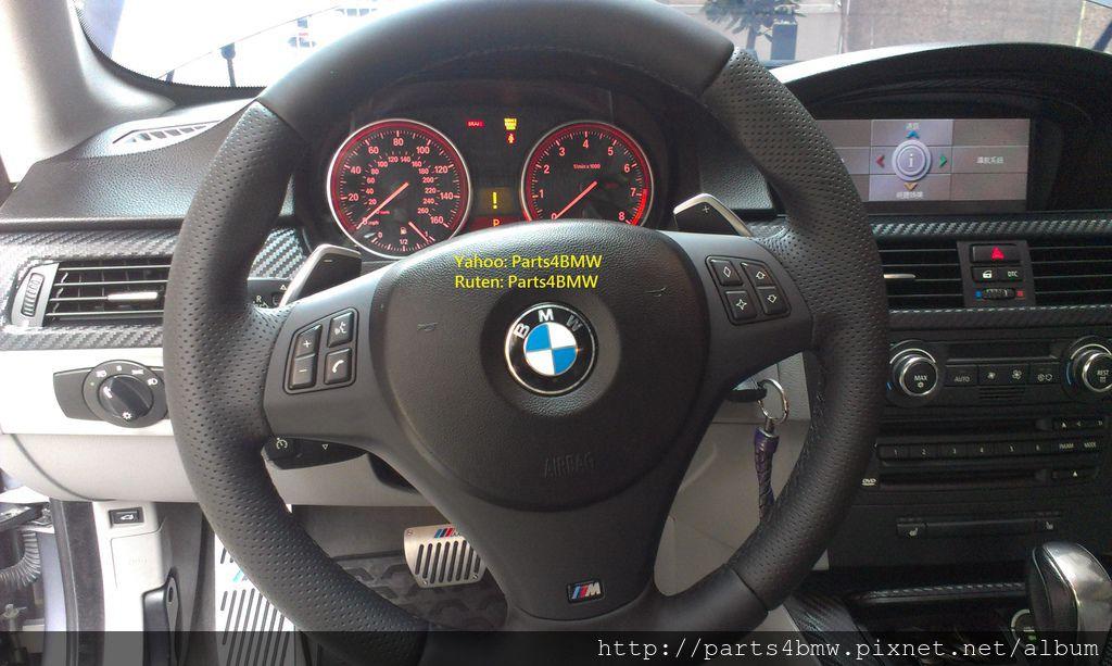 E92 335換M Sport方向盤