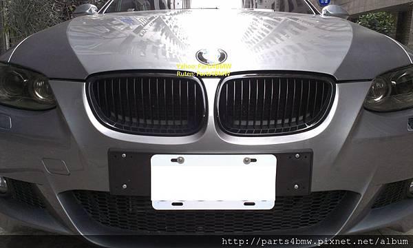 E92 335換Performance黑鼻頭
