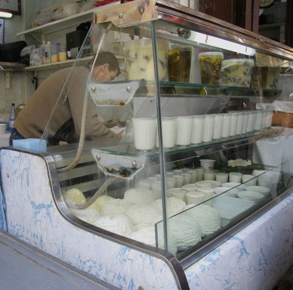賣優格的早餐店