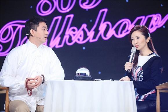 陶晶瑩首唱《真的假的》功力不俗 做客《今晚80后脫口秀》智斗王自健1