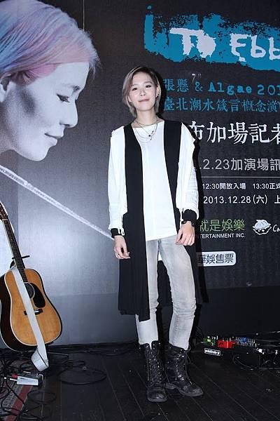 張懸跟Algae 2014 台北演唱會加場