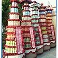 9層飲料罐頭塔柱