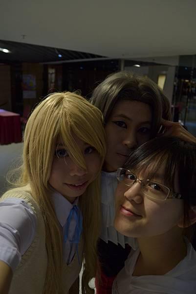with 洛+のぶバナナ
