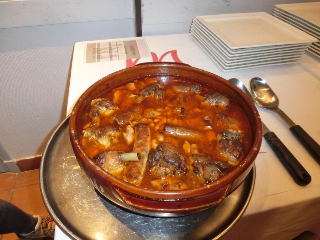 14飯店晚餐卡書雷特料理Cassoulet (7)