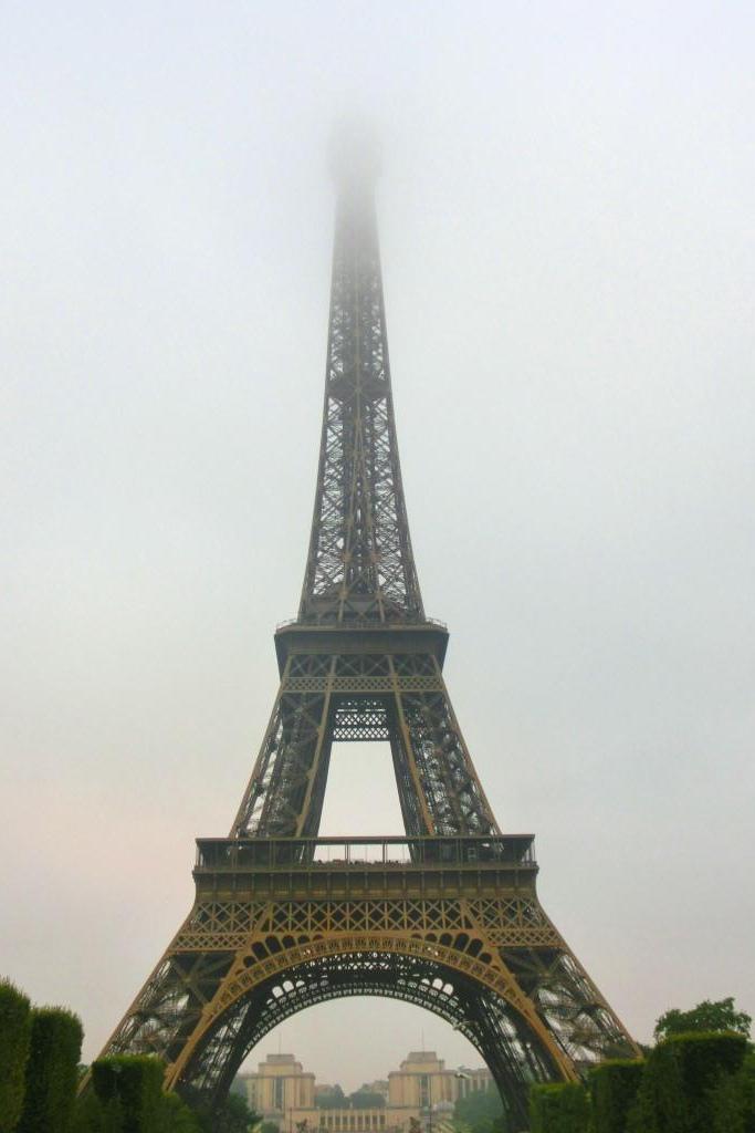 1清晨的巴黎鐵塔 (6)