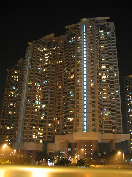 東涌的高級住宅區