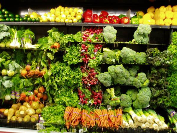 超市的蔬菜區2