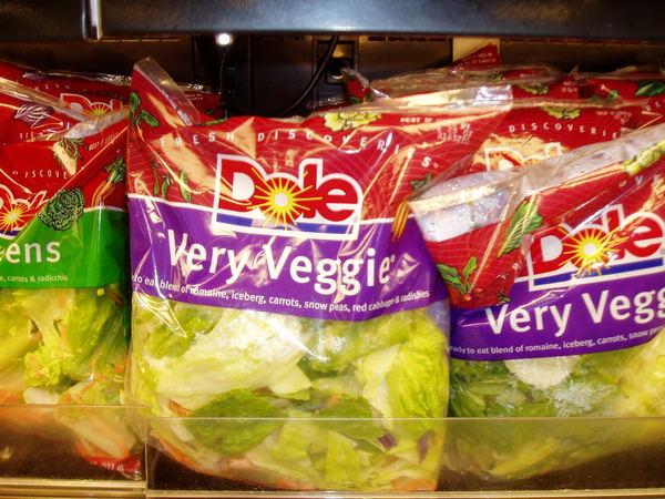 包裝好的沙拉菜2