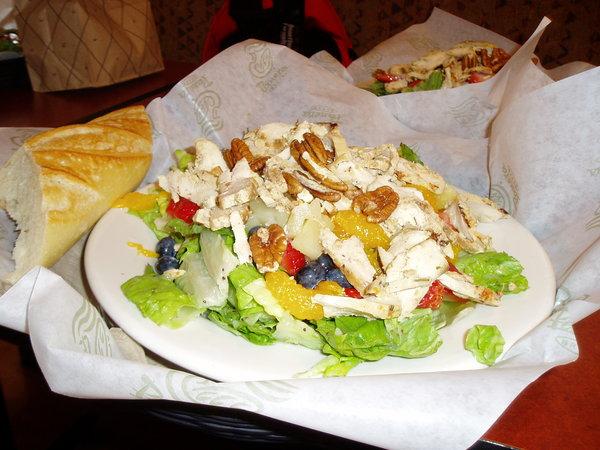 Panera Bread_草莓雞肉沙拉