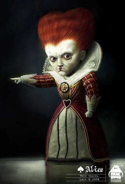 Early-Alice-in-Wonderland-Concept-art-the-Red-Queen-alice-in-wonderland-2009-7070710-812-1200