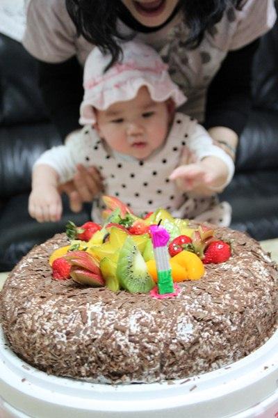 晴農曆一歲生日2