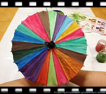 雨傘塗鴉8