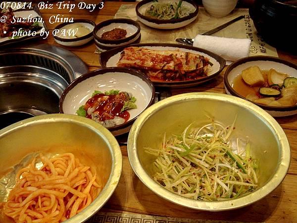 2007.08.14(二) D03 005. 蘇州 農樂園韓國烤肉