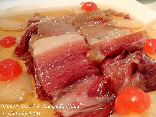 2007.08.18(六) D07 012. 上海 南伶酒家 - 蜜汁火方