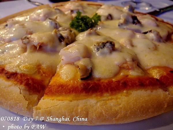 2007.08.18(六) D07 021. 上海 浦東 天水戀 - 披薩