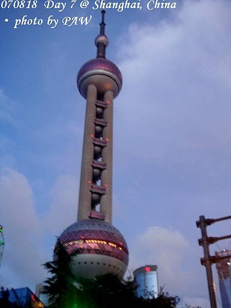 2007.08.18(六) D07 024. 上海 東方明珠塔