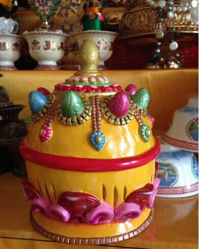 格薩爾王地藏菩薩招央寶袋