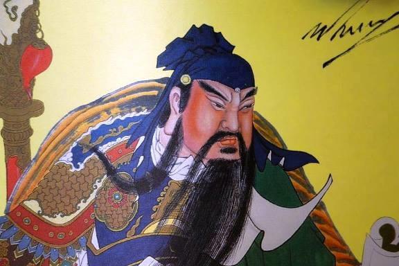 關聖帝君 第十七世大寶法王繪製.jpg