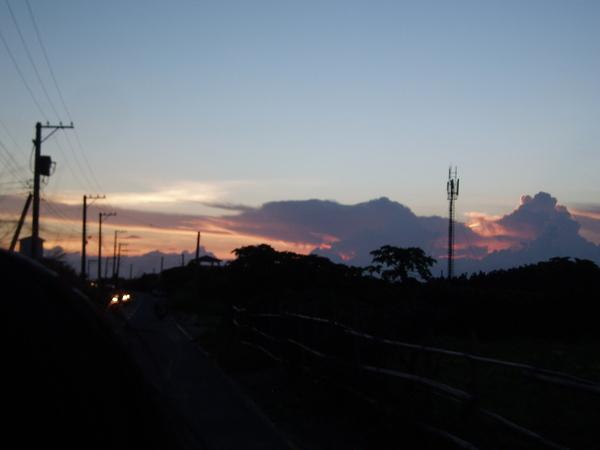 美麗的....夕陽!