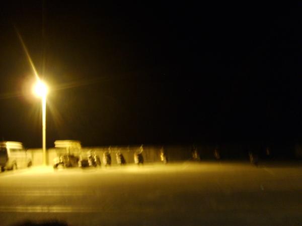 綠島夜景...