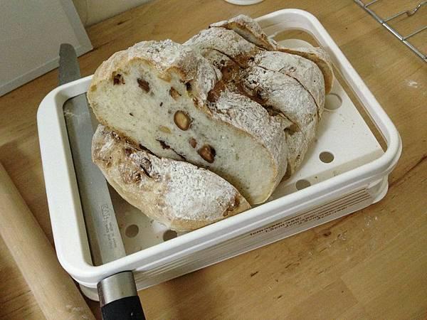 蔓越莓堅果瘦麵包